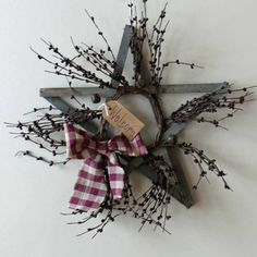 rustic wooden star wreath | Add it to your favorites to revisit it later.