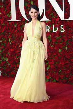 On the Scene: The 70th Annual Tony Awards with Lupita Nyong'o in BOSS, Lucy Liu, Danai Gurira, and More!