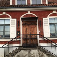 #house #doors #riga #colors #red #ideas #design
