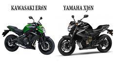 ER6n VS XJ6n, COMPARATIVA