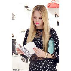 BLOGGER - Kristina Bazan » ANGEL.GE ❤ liked on Polyvore