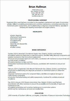 Entry Level Adjunct Professor Resume New Automotive Resume