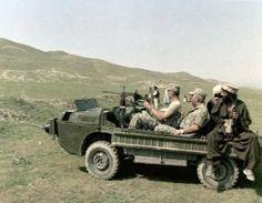 1977 Советский контингент в Афганистане  Плавающий колесный транспортер ЗАЗ-967 (ЛуАЗ-967М)
