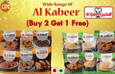 Simply... A Matter Of Good Taste !!! #B1G1 Absolutely Free On Selective #ALKABEER Products Available Only At Grocery Mantra https://www.grocerymantra.com/frozen.html