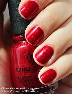 China Glaze Nail Lacquer #254 Visions of Grandeur