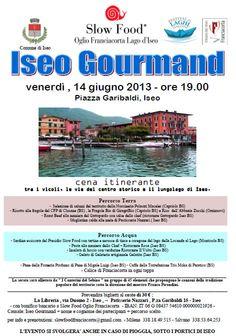 Iseo Gourmand http://www.panesalamina.com/2013/11851-iseo-gourmand.html