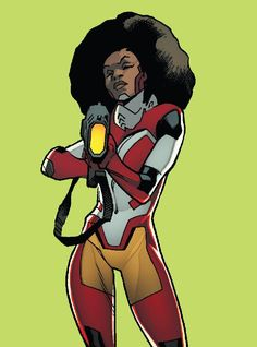 Misty Knight by •Stuart Immonen