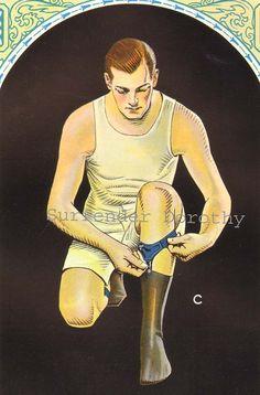 Men's Hosiery Garters Gentleman Fashions 1920s Advertisement Art Deco Roaring Twenties Lithograph To Frame. $35.89, via Etsy.