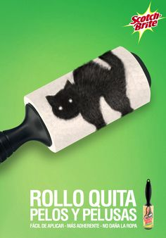 Scotch-Brite - Rollo quita pelos y pelusas | #Advert & #Animals