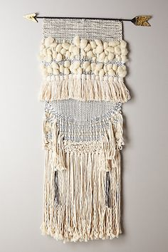 handwoven arrow tapestry #anthrofave