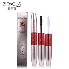 Double Ended White and Black 3D Fiber Mascara Waterproof Makeup Colossal Lash Curling Eyelash Extension Make Up    Type: Mascara Benefit: Curling,Lengthening,Fast/Quick Dry,Thick,Other,Natural NET WT: 10g Size: Full Size Quantity: 1PC Waterproof / Water-Resistant: Yes Ingredient: Mascara  Great Holiday gifts 2017!!!  #mascara #lashcurling #lengtheningmascara