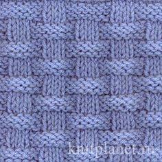 Планета Вязания | Вязание спицами: клетка, ромбы, плетенка. Схемы вязания.
