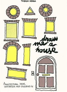"""""""'Draw Me a House"""" by Thibaud Herem • $17.95; Cicada Books Limited, May 2012"""