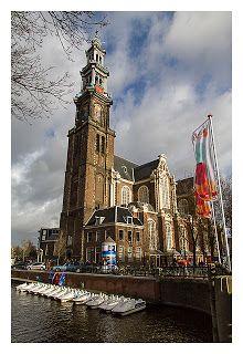 Westerkerk in Amsterdam, Netherlands