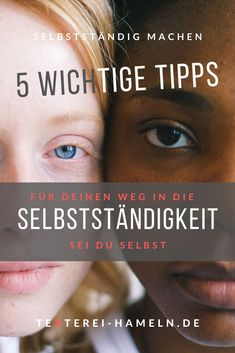 Wie du deinen Weg in die Selbstständigkeit mit 5 Tipps leichter gestalten kannst. Online Marketing, Movie Posters, Do Your Thing, Working Moms, Tips, Film Poster, Billboard, Film Posters
