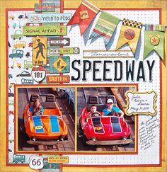 Paper Gumbo: Tomorrowland Speedway
