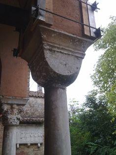 Santa Fosca, Torcello, Italy, capital (Würfelkapitell)