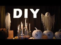 5 Creepy but Classy Halloween Decorations (on a budget!) - YouTube