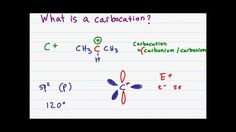 Carbocation Stability tutorial video for organic chemistry students. Learn how the carbocation forms, its formal charge, and stability as an alkyl, allylic, or benzylic carbocation