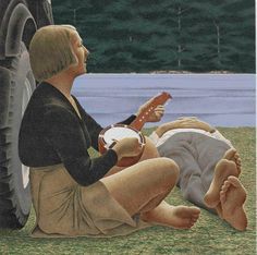 Alex Colville Canadian Painters, Canadian Artists, New Artists, Alex Colville, Art Inuit, Art Gallery Of Ontario, Tate Gallery, Magic Realism, Galleries In London
