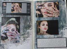 Page 5 & 6 - Editing photo.