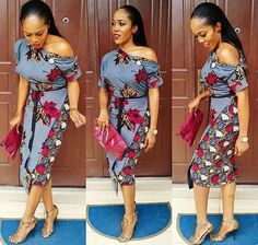 Check out this Fashionable latest african fashion look African Print Dresses, African Dresses For Women, African Wear, African Attire, African Fashion Dresses, African Women, African Prints, Ankara Fashion, African Style