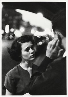 """Louis Faurer, """"Deaf mute"""". New York 1950"""