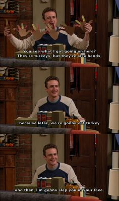 how i met your mother...and goodness his face in the last panel is absolutely adorable.