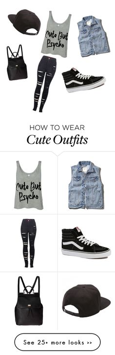Cute but psycho. Lol, I'm kinda crazy and weird but not psycho. (If only I could change the words :(. Kpop Fashion, Cute Fashion, Teen Fashion, Fashion Outfits, Fashion Trends, Cute Girl Outfits, Outfits For Teens, Cool Outfits, Summer Outfits