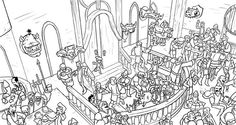 difficult coloring pages for older kids - Enjoy Coloring