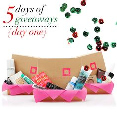 jillgg's good life (for less)   a style blog: 5 Days of Giveaways: Day 1!