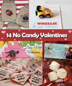 No Candy Valentines Ideas