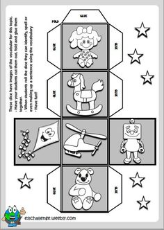 Kids Fun, Cool Kids, Primary English, English Teaching Resources, Vocabulary Activities, Recording Sheets, Colouring Pages, Mini Books, Esl