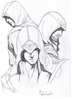 Image Result For Assassins Creed Drawing Assassins Creed Art