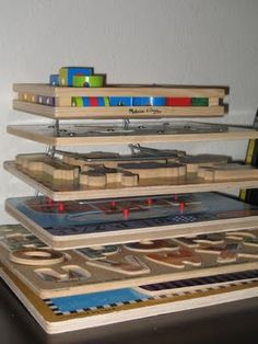 Puzzle storage using an office file folder sorter!