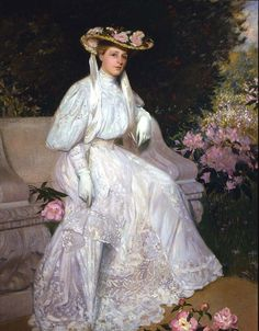 Portrait of Mrs Sarah Skinner by Herman Dudley Murphy (1905)