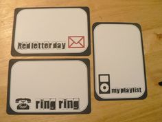 Red Letter day – Project lifeprintables