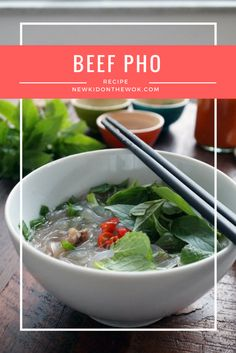 Recipe for fresh and flavorful homemade beef pho inspired by the popular Vietnamese pho a soup and noodle dish in Vietnam