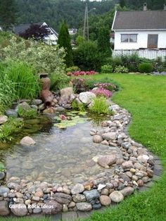 Genius Low Maintenance Rock Garden Design Ideas for Frontyard and Backyard . - Genius Low Maintenance Rock Garden Design Ideas for Frontyard and Backyard – Googodecor - Garden Cottage, Diy Garden, Garden Projects, Garden Ideas, Garden Houses, Pond Ideas, Amazing Gardens, Beautiful Gardens, Rain Garden Design