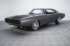 1970 Dodge Charger Charcoal For Sale