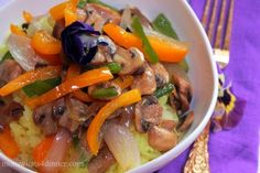 Jasmine Rice with Veggies on http://momwhats4dinner.com/jasmine-rice-veggies/