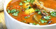Bardzo lubimy takie treściwe zupy. Są mega sycące i rozgrzewające, a ich aromat uzależnia ;) Składniki ...