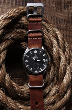 Omega - This is the perfect watch | Raddest Looks On The Internet: http://www.raddestlooks.net