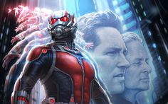 Marvel Studios has released a new piece of concept art for Ant-Man. It features stars Michael Douglas and Paul Rudd. Paul Rudd, Ant Man Scott Lang, John Slattery, Evangeline Lilly, Peggy Carter, Ant Man Characters, Ant Man Trailer, Ant Man Film, Marvel Phase 3