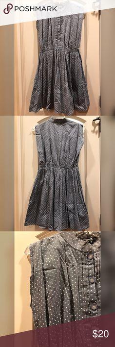 Sequin Hearts VonMaur - Blue Dress w  Polka Dots Adorable ba6d4c0ca