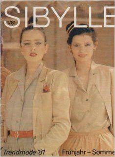 SIBYLLE 1/1981, Verlag für die Frau, DDR, GDR