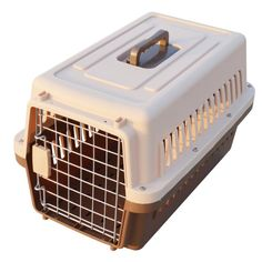 Paw Essentials 19' inch Dog and Cat Pet Carrier and Travel Crate (Coffee) -- Check out the image by visiting the link. (This is an affiliate link and I receive a commission for the sales)