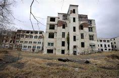 Inside the abandoned Henryton State Hospital