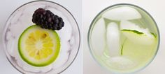 Flavored-Water-Cucumber LemonGrass Blackberry Ginger