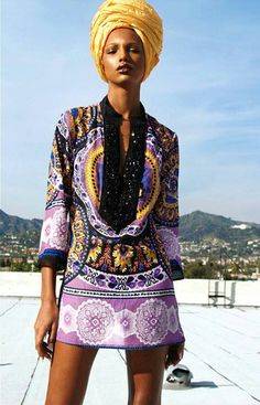 chasing helsinki: On My Radar: Afrocentric Style African Inspired Fashion, African Print Fashion, Africa Fashion, Ethnic Fashion, Fashion Prints, African Prints, African Wear, African Attire, African Women